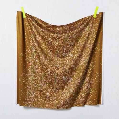 Nani Iro Japanese Fabric - Kokka - Melodie croquis 1A Cotton Sateen - half yard