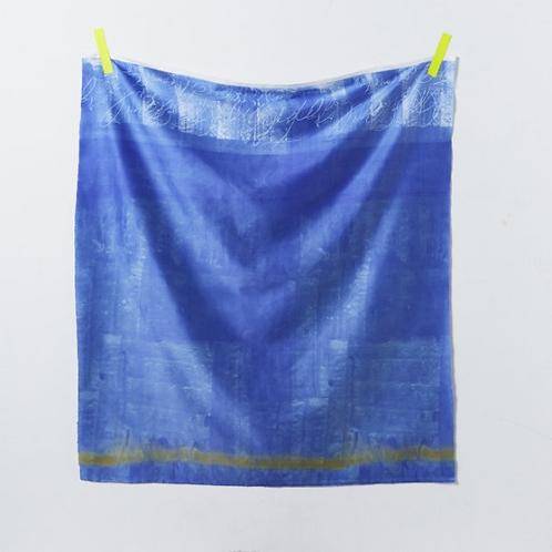 Nani Iro Japanese Fabric - Kokka - Ripple 1B Cotton Sateen - half yard fabric
