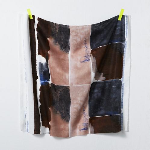 Nani Iro Japanese Fabric - Kokka - Poesie 1B Thin Linen - half yard fabric