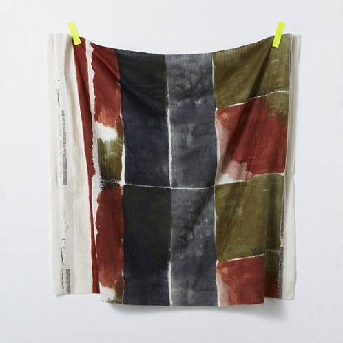 Nani Iro Japanese Fabric - Kokka - Poesie 1B Double Gauze - half yard fabric