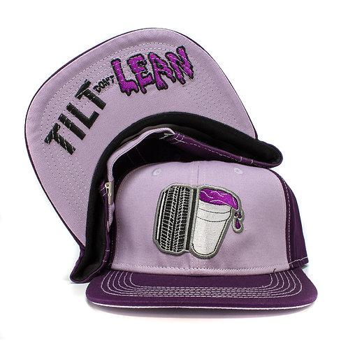 Tilt Don't Lean Flatbrim (Purple)
