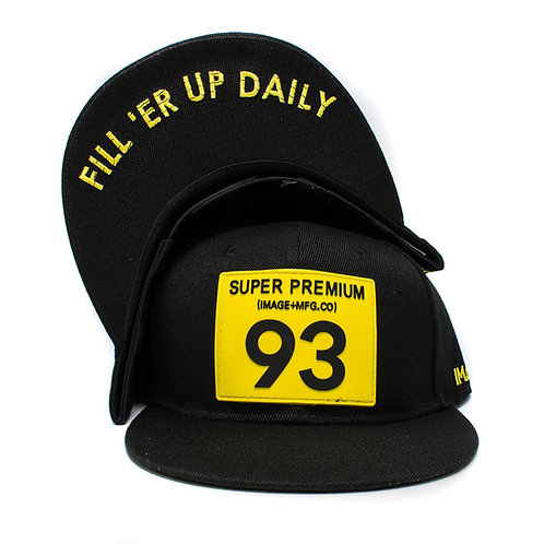 Super Premium Snapback (Black)