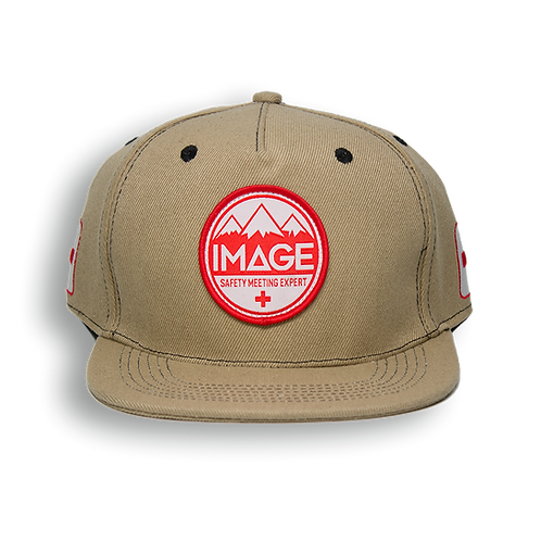 Safety Meeting Snapback (Tan)