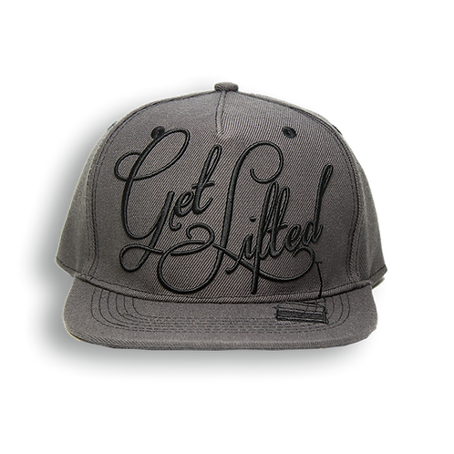 Get Lifted Snapback (Charcoal)