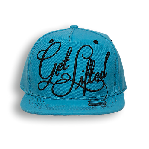 Get Lifted Snapback (Blue)