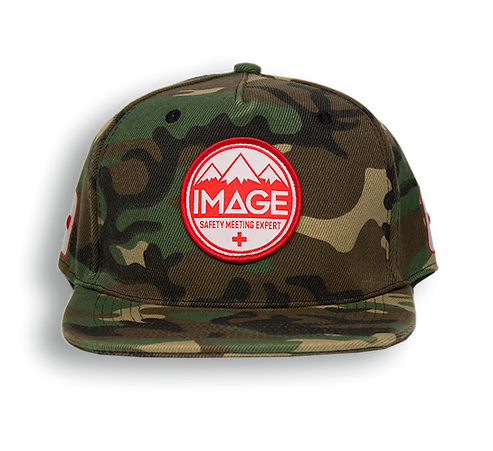 Safety Meeting Snapback (Classic Camo)