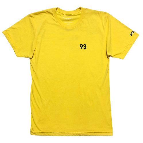 93 Tee (Light Yellow)