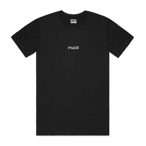 Staple Tee (Heather Black)