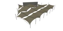Tensile Shadecloth Structure