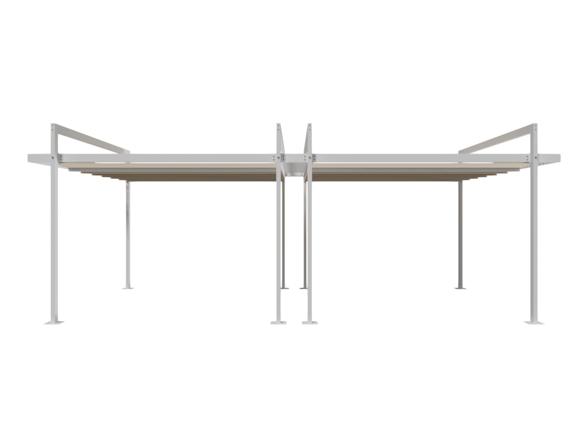 Retractable Pergola Manual FV