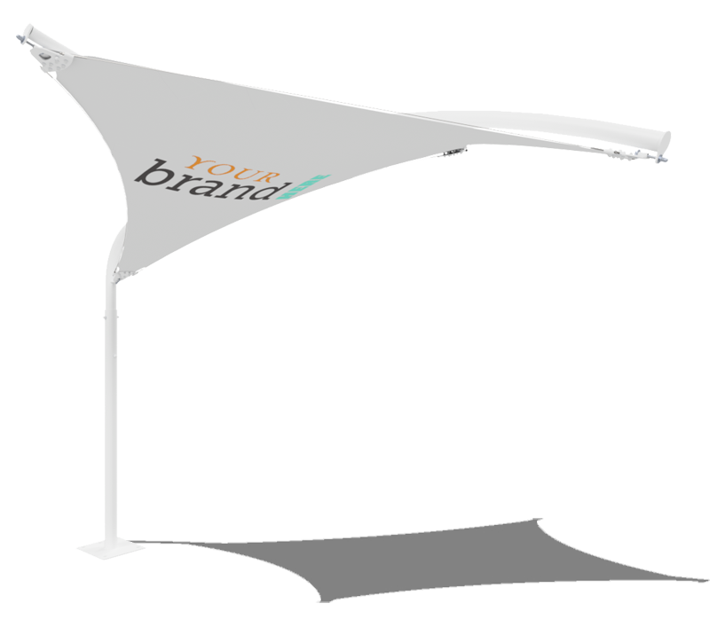 Cantilever Bird Structure branding