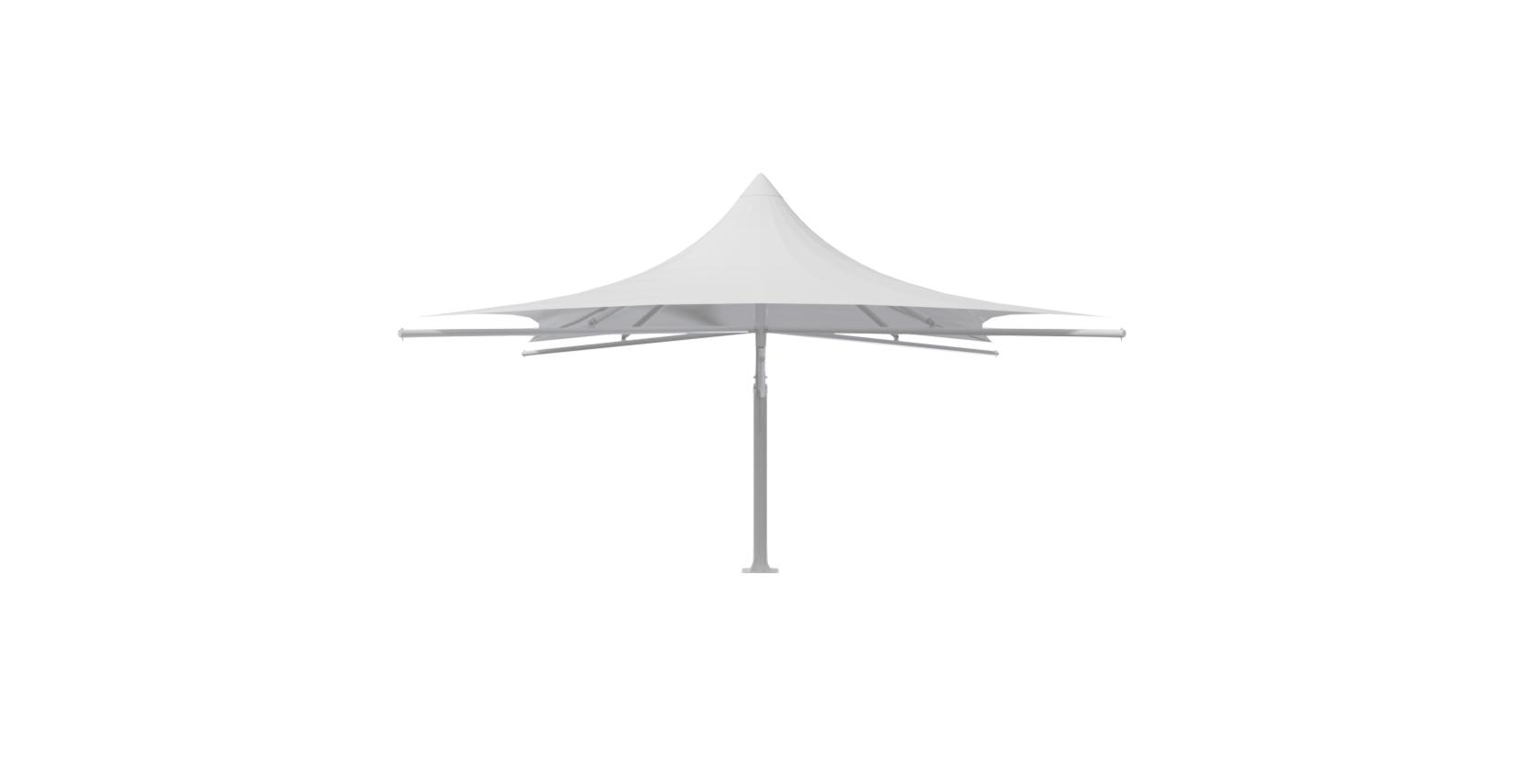 5x5 Mono Cantilever Umbrella FV