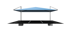 7500x5000 Full Cantilever Shadeport Asse