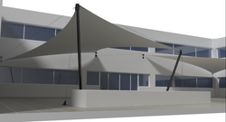 Sails Structures Isometric View 03