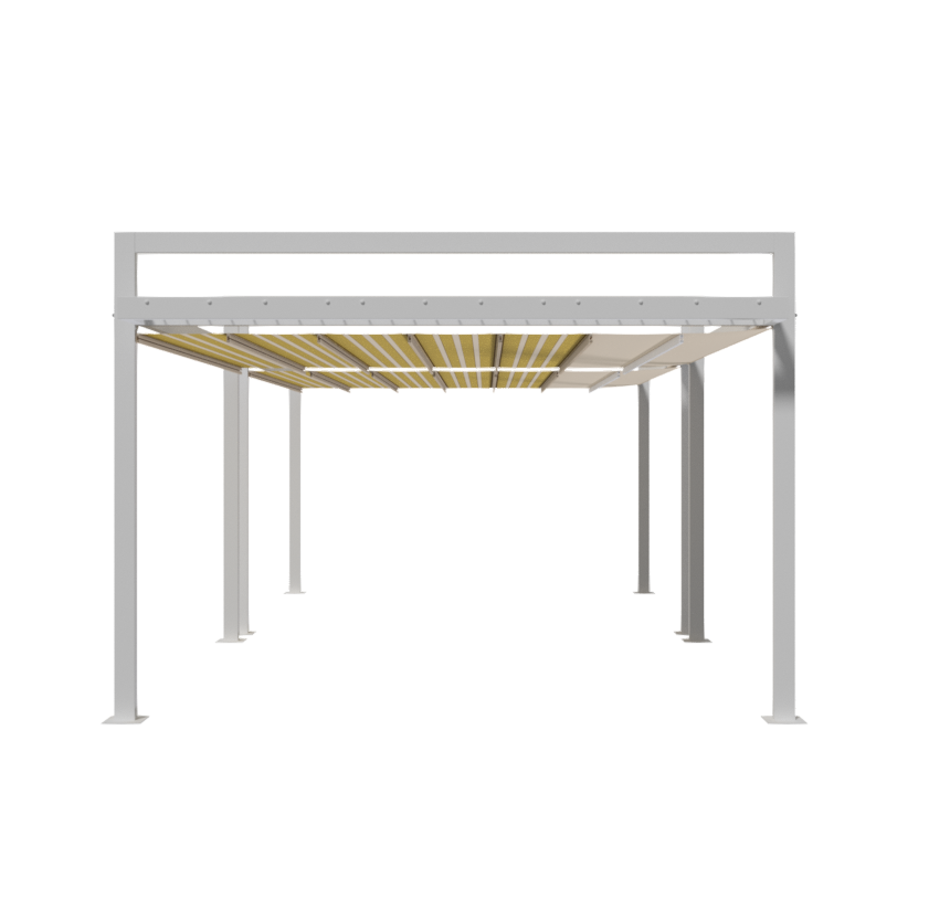 Retractable Pergola Manual SV