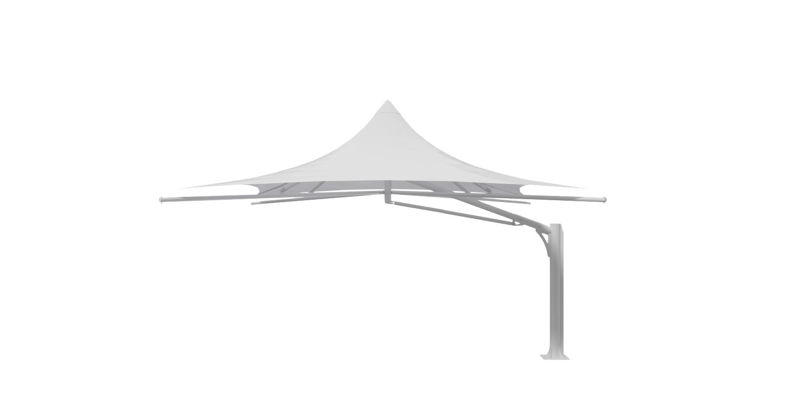5x5 Mono Cantilever Umbrella