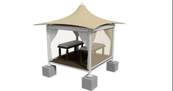 Massage Booth - ISO Hemp