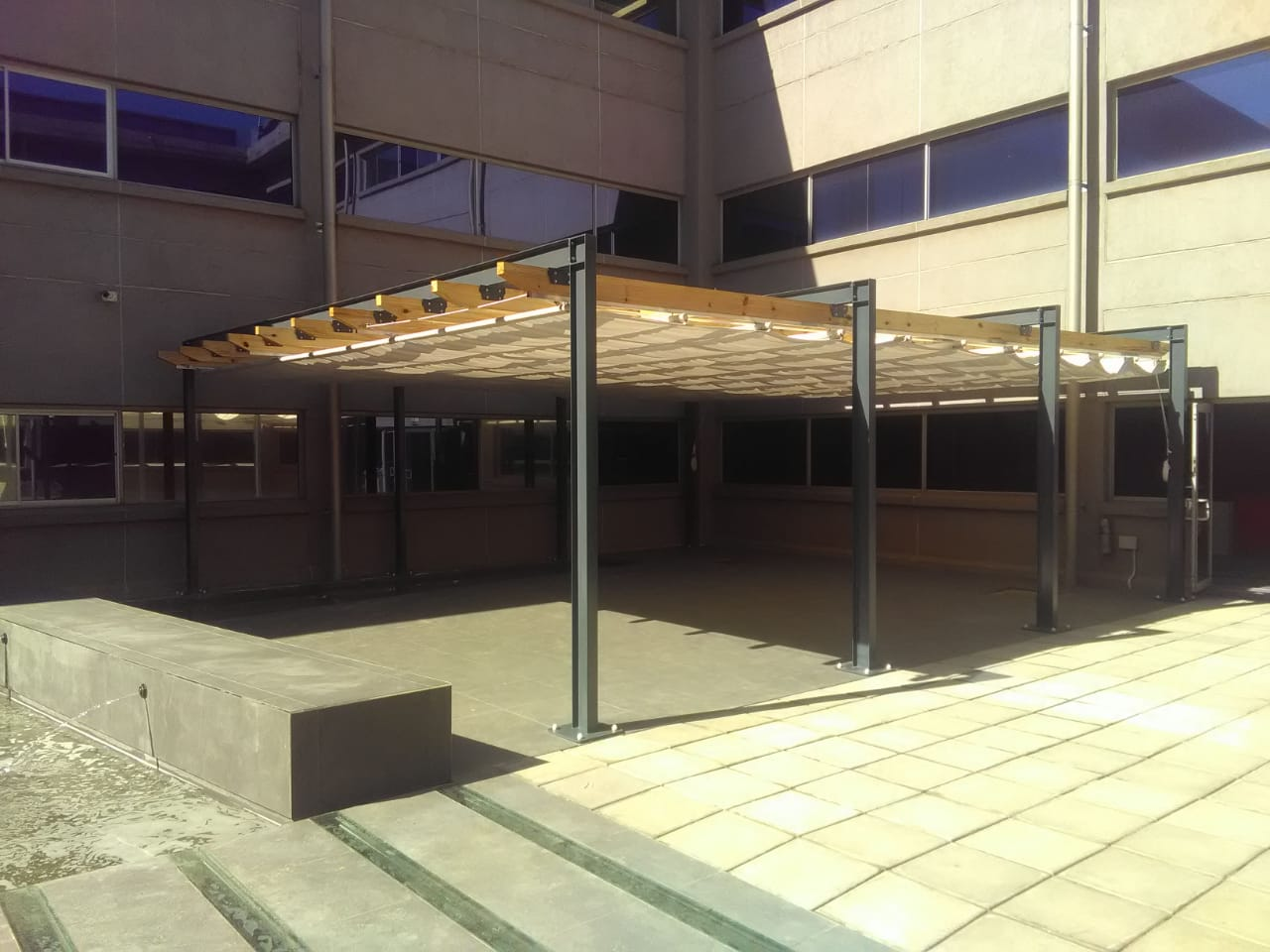 Retractable Pergola 9 x 8m
