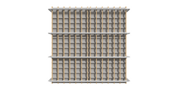 Retractable Pergola - Plan View