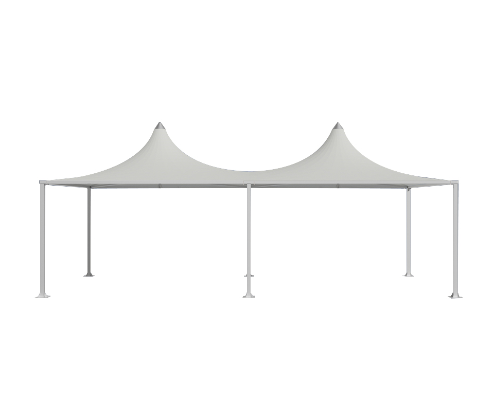 Channel Edge Dual-Peak Marquee