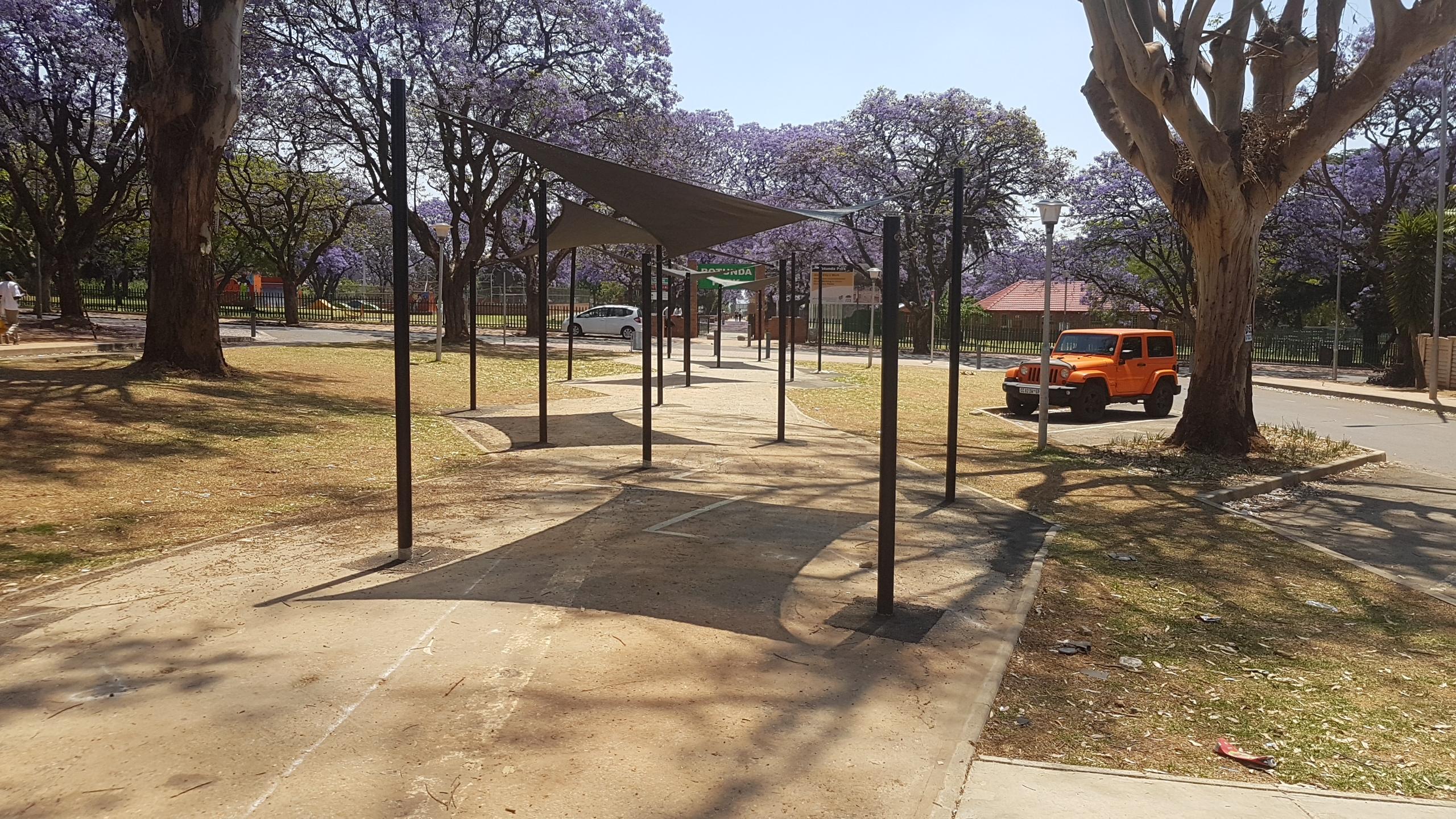 Rotanda Park, Sail Structure