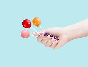 Sweet as beautiful nail.