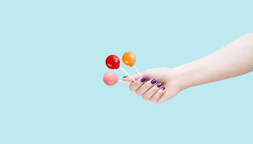 Three Lolly Pops