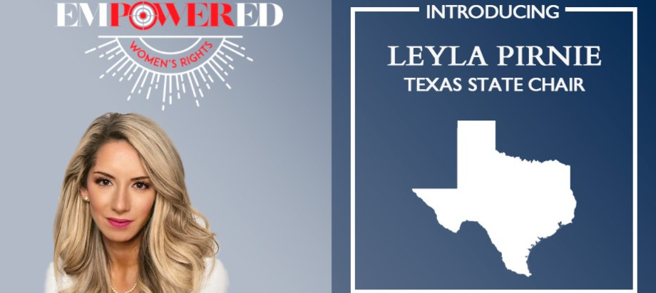 Leyla Pirnie Joins EMPOWERED 2A as TX Chair