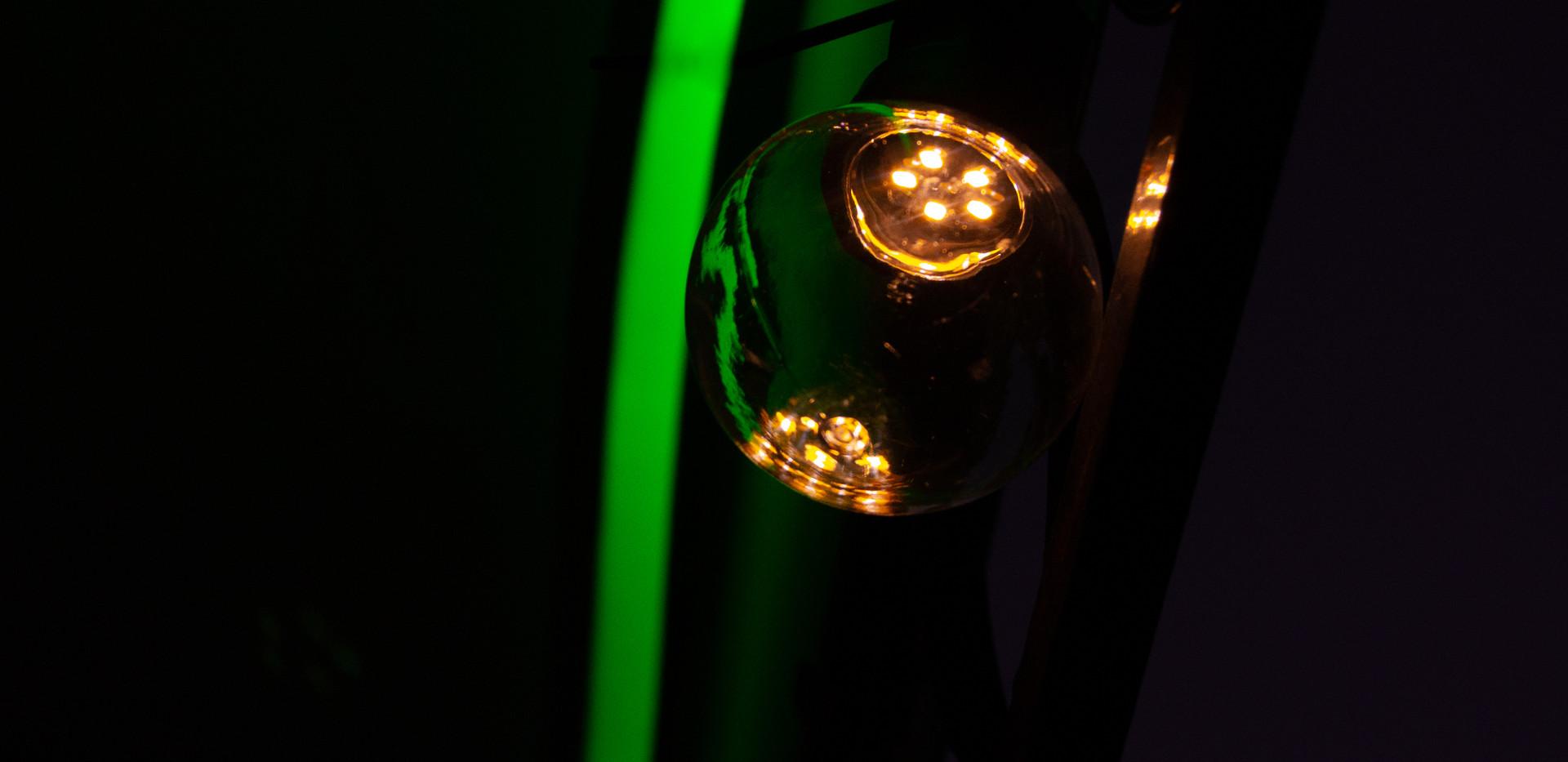 Guirlande de lumière et néon flexible en extérieur