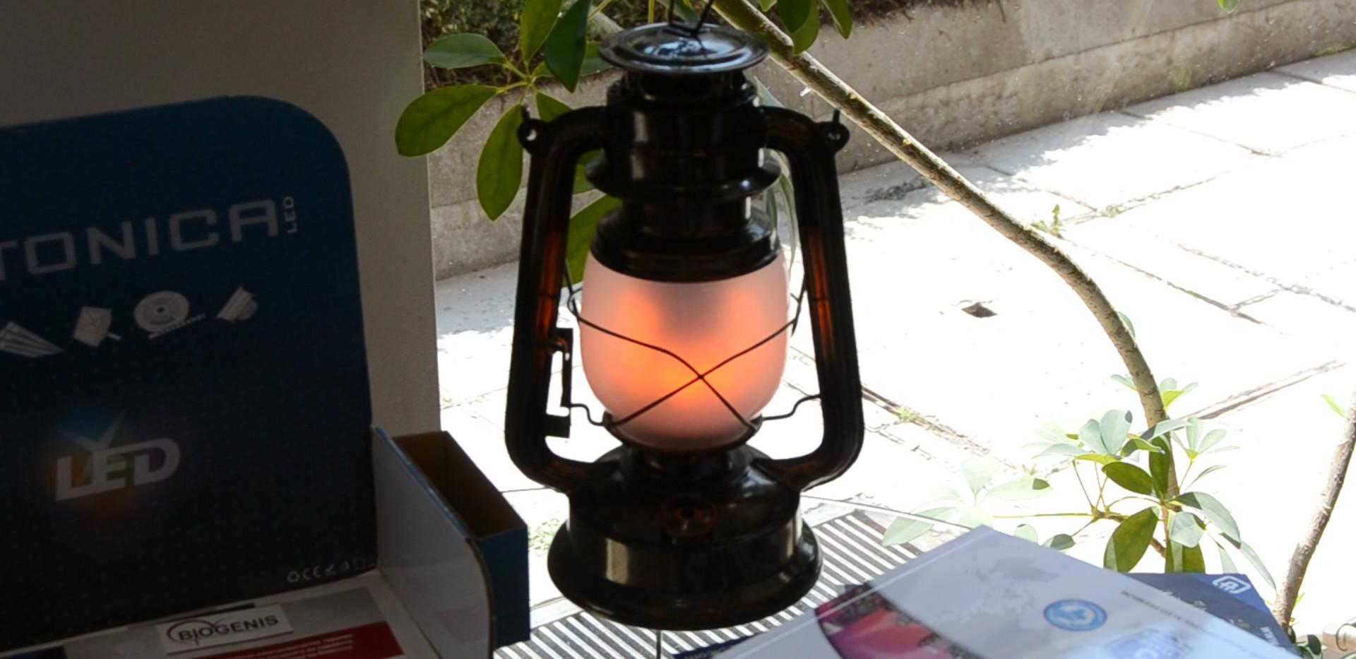 Lampe effet flamme