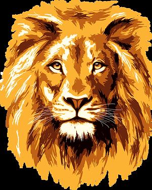 Golden_lion_face_ vector.png