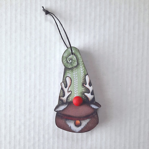 Reindeer Gnome Ornament