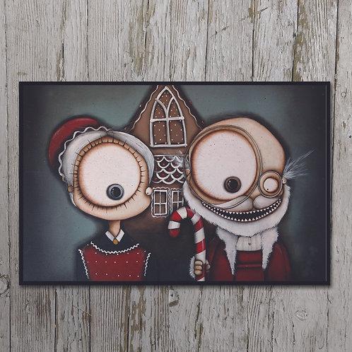 Christmas Print Plaque