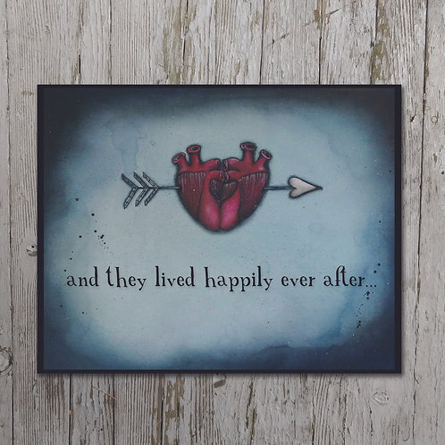 Happily Ever After... Plaque