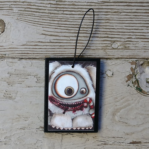Small Abominable Snowman Ornament