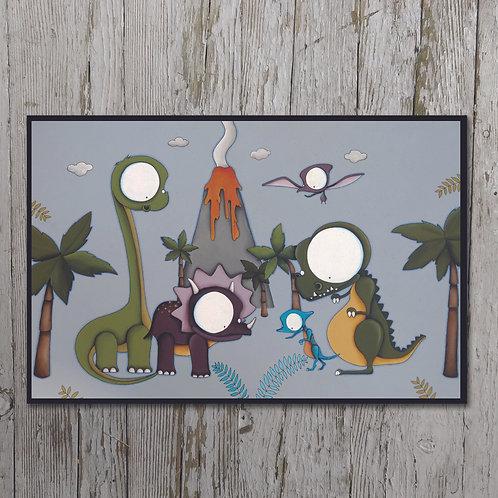 Dinosaurs Plaque