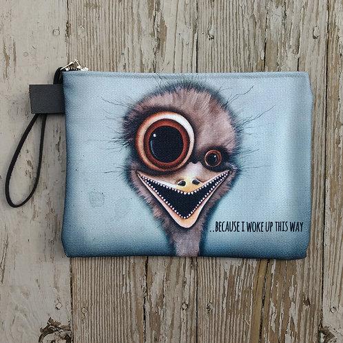 Emu Zippered Carry-All