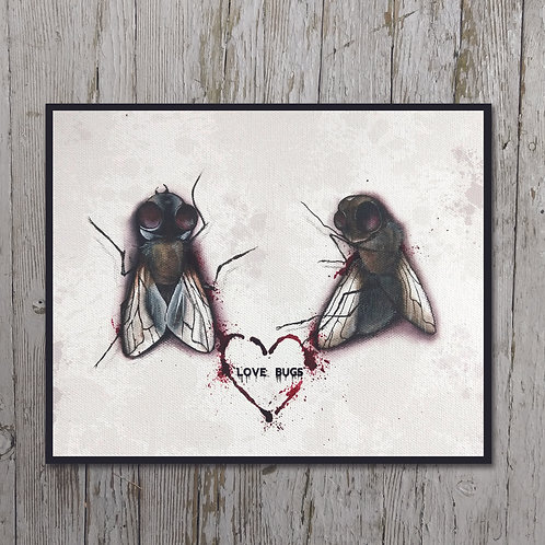 Love Bugs Print Plaque
