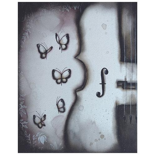 "11""x14"" Cello Painting"