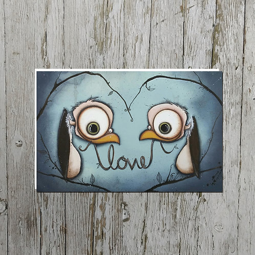 Love Vultures Card