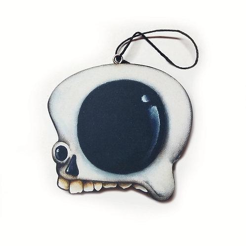 Side Skull Ornament