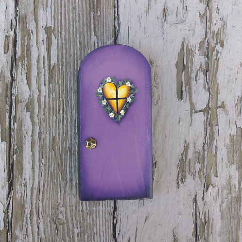 Deep Purple Fairy Door