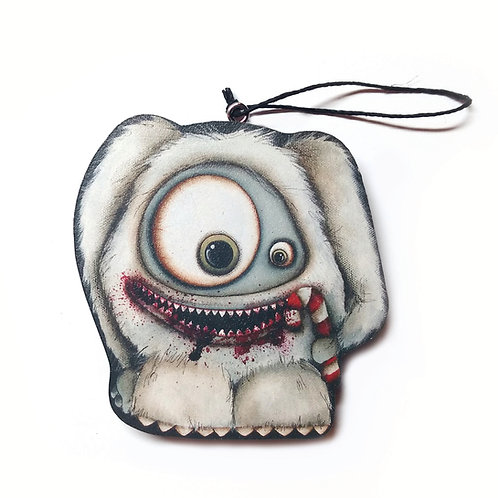 Abominable Snowman Ornament