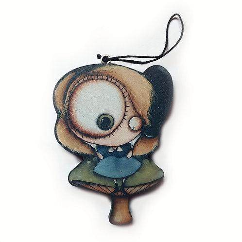 Alice Ornament
