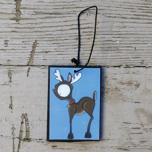 Small Reindeer Ornament
