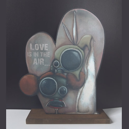 Love is in the Air Print Stand-Up