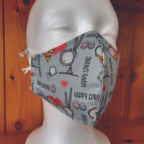 Medium Happy Spring Mask
