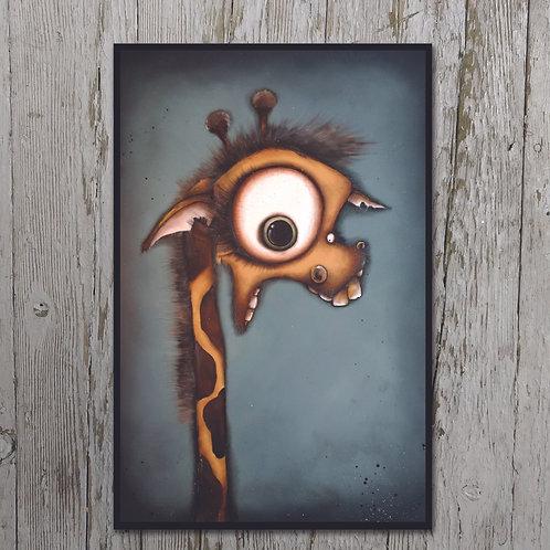 The Homely Giraffe Plaque