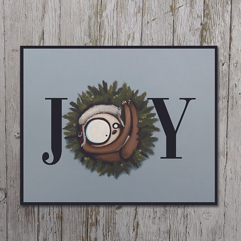 Joy Print Plaque