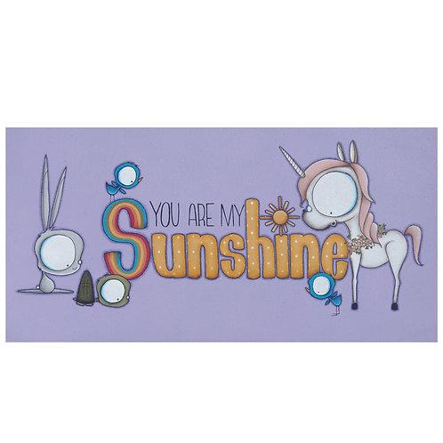 Sunshine Unicorn Original Painting